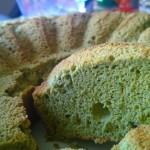 зелен кекс